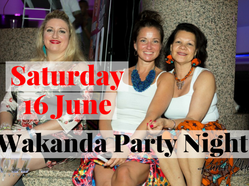 Wakanda Saturday Night Party